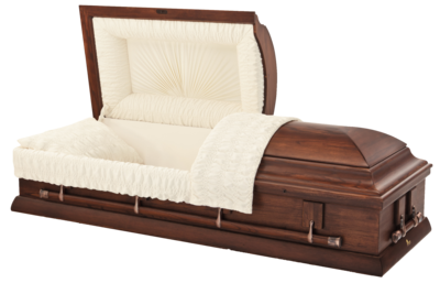 Hardwood Oak Rental Casket